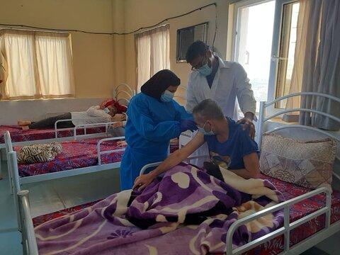 ۴۵ درصد از مقیمان مراکز شبانه روزی نگهداری و توانبخشی بهزیستی استان واکسینه شده اند