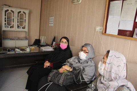 بازدید گروه بازرسی وزارت تعاون، کار و رفاه اجتماعی  از روند واکسیناسیون کرونا در مرکز سالمندان نگار