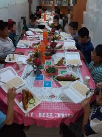 فسا | گزارش تصویری از برگزاری مراسم جشن عید سعید فطر در خانه محبت