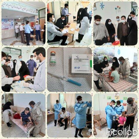 فارس | فسا | اجرای طرح واکسیناسیون کووید ۱۹ در مراکز شبانه روزی تحت نظارت بهزیستی