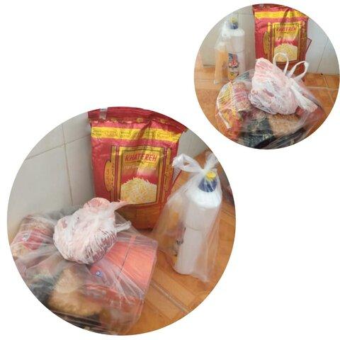 بهزیستی فیروزآباد | توزیع بسته های مواد غذائی و وجوه جمع آوری شده زکات فطره