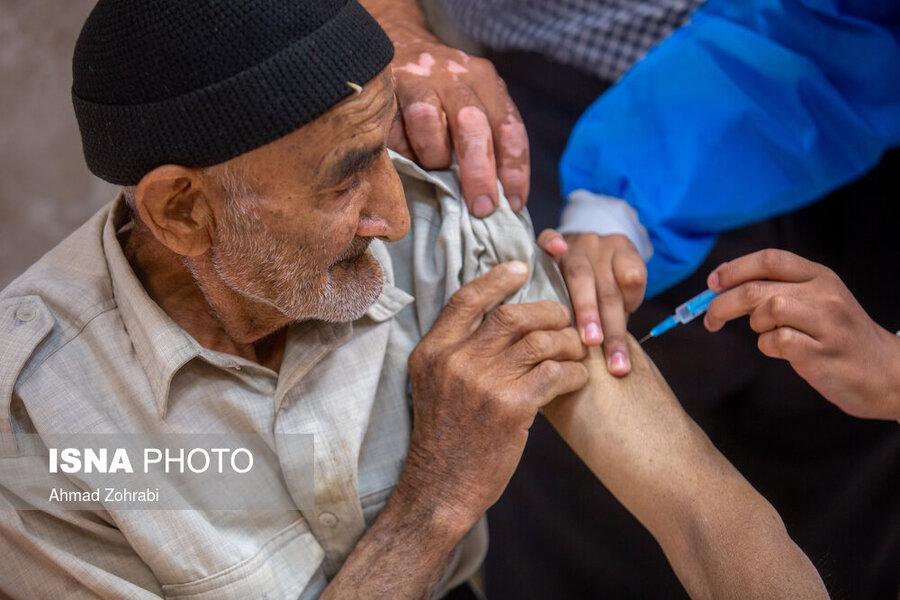 رایزنی با وزارت بهداشت برای تزریق دز سوم واکسن کرونا به افراد مقیم در مراکز شبانهروزی