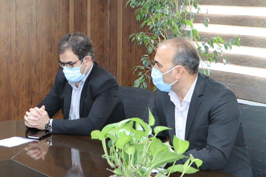 دیدار مدیرکل بهزیستی استان تهران با فرماندار قرچک