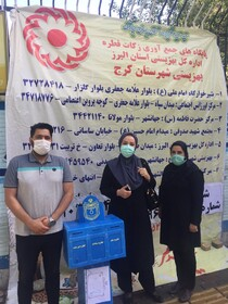 گزارش تصویری| حضور فعال مجموعه مدیریتی بهزیستی استان و شهرستان ها در پایگاههای جمع آوری فطریه