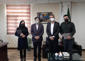 تقدیر مدیرکل بهزیستی استان البرز از کارکنان دفتر روابط عمومی