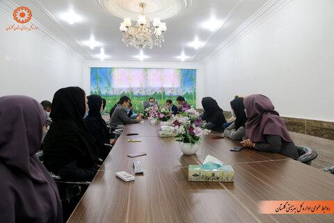 گزارش تصویری | دیدار صمیمی مدیرکل بهزیستی با پرسنل شهرستان رامیان