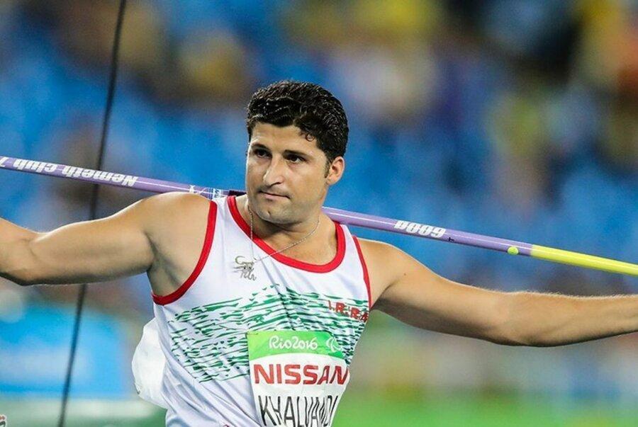 """محمد خالوندی؛ قهرمان پرتاب نیزه """"پارالمپیک"""""""