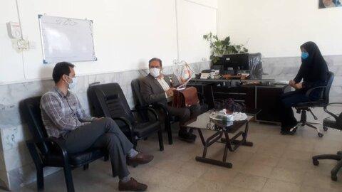 بازدید مسوول مدیریت بحران بهزیستی استان از مناطق گرمه و جاجرم