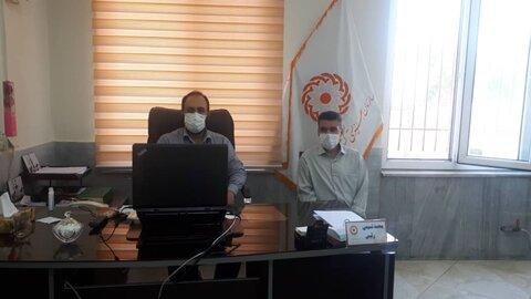 گزارش تصویری   برگزاری جلسه معاون پشتیبانی ب روابط عمومی ستاد و شهرستان ها