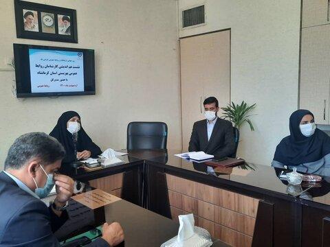 تجلیل از کارشناسان روابط عمومی بهزیستی استان کرمانشاه