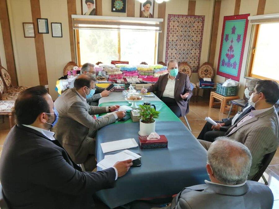 بازدید مدیرکل بهزیستی مازندران