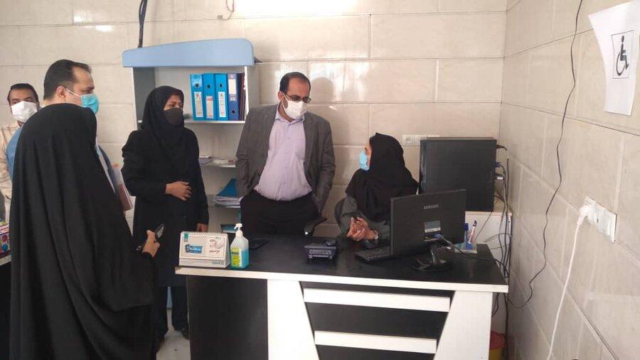بازدید فرماندار شهرستان زاهدان از مراکز مثبت زندگی تحت نظارت بهزیستی