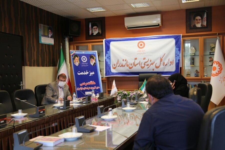 ملاقات مردمی مدیرکل بهزیستی مازندران