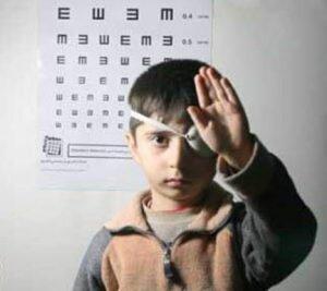 باخرز | غربالگری بینایی رایگان کودکان سه تا شش سال در باخرز