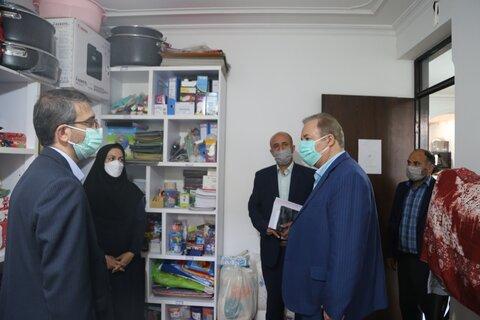 گزارش تصویری │ بازدید مدیرکل امور کودکان و نوجوانان کشور از مرکز آل طاها شهرستان نکا