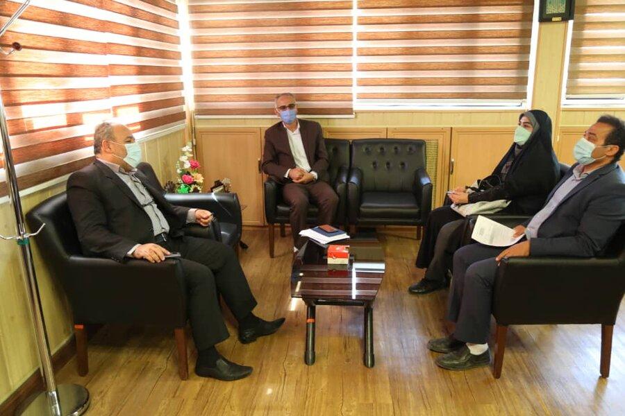 نشست نمایندگان استانداری با مدیر کل بهزیستی در خصوص حقوق شهروندی