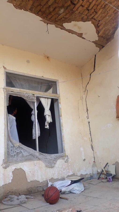گزارش تصویری از بازدیدتیم اورژانس 123 از مناطق زلزله زده بخش شوقان