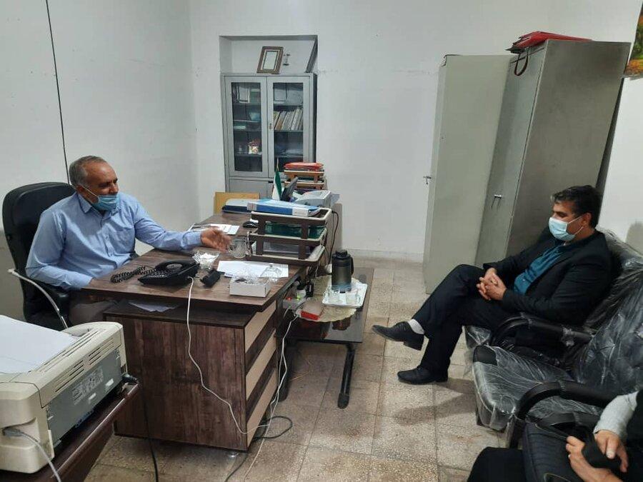 فیروزآباد   بازدید از مراکز مثبت زندگی تحت نظارت بهزیستی