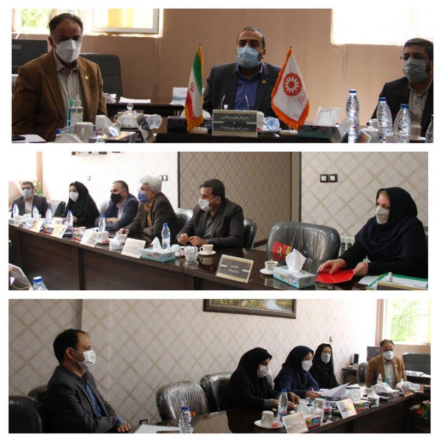 برگزاری دومین کمیسیون ماده ۲۶ و اولین کمیسیون نظارت استان در سال جدید