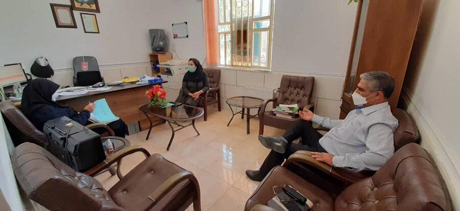 سروستان | بازدید از مرکز نگهداری و توانبخشی معلولین ذهنی امید