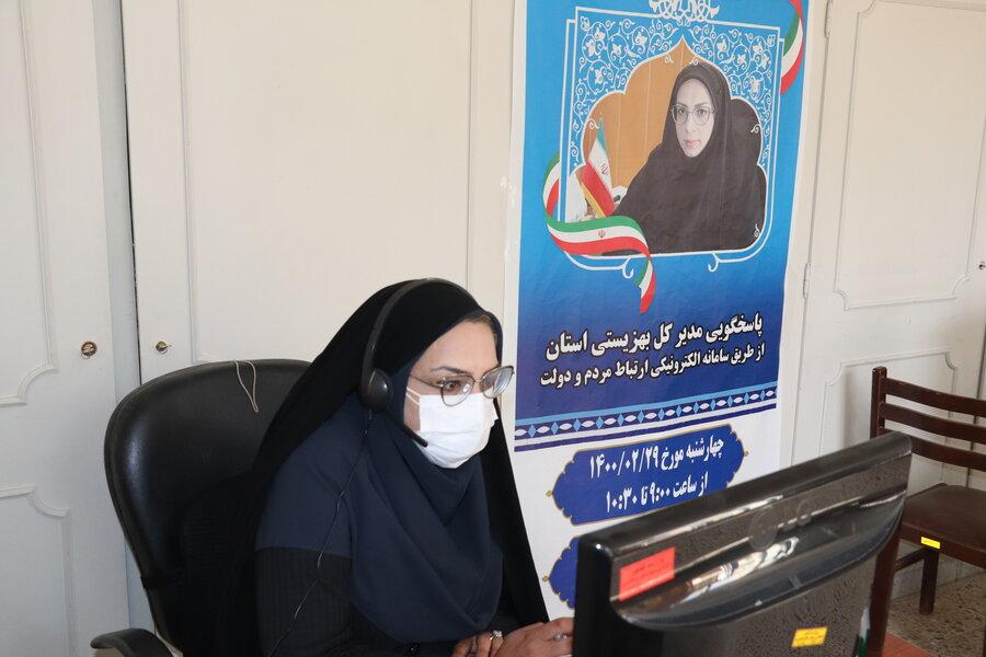 ارتباط مستقیم مدیر کل محترم بهزیستی استان چهارمحال و بختیاری با مردم