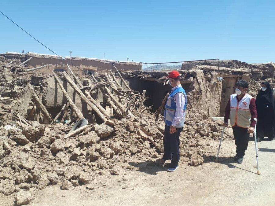 استقرار ۸ تیم محب در شهرستانهای زلزلهزده گرمه و جاجرم/ بازدید خانه به خانه مددجویان