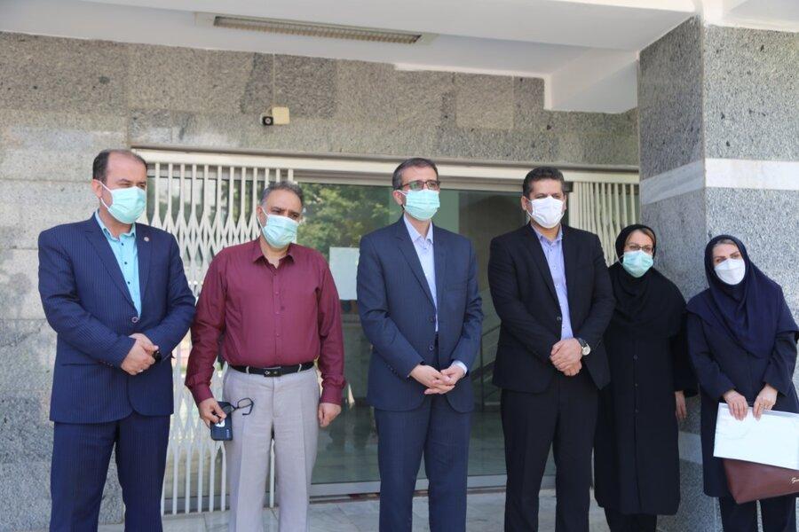 بازدید مدیرکل امور کودکان و نوجوانان بهزیستی کشور از شیرخوارگاه شکوفه شهرستان ساری