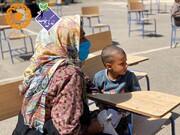 گزارش تصویری | خدمات جهادی پزشکی و مددکاری مؤسسهی زندگی خوب در شهرستان صالح آباد