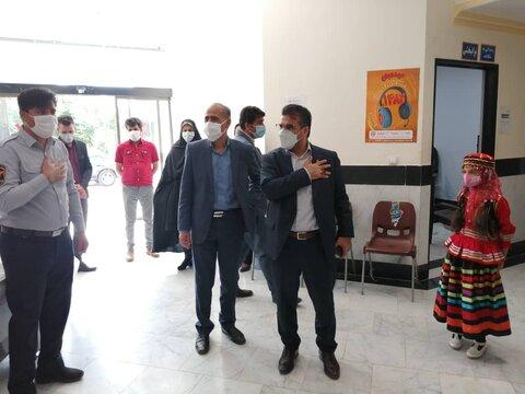 گزارش تصویری | سفر سرپرست بهزیستی و استاندار خراسان رضوی به دو شهرستان غرب استان
