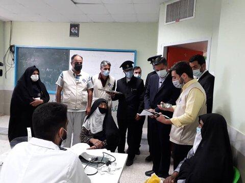خدمات جهادی پزشکی و مددکاری مؤسسهی زندگی خوب در شهرستان صالح آباد