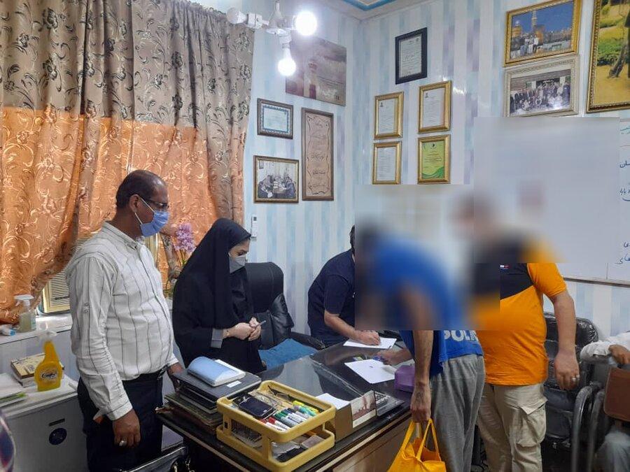 پنجاه معتاد متجاهر از مراکز ماده ۱۵ بهزیستی آبادان ترخیص شدند
