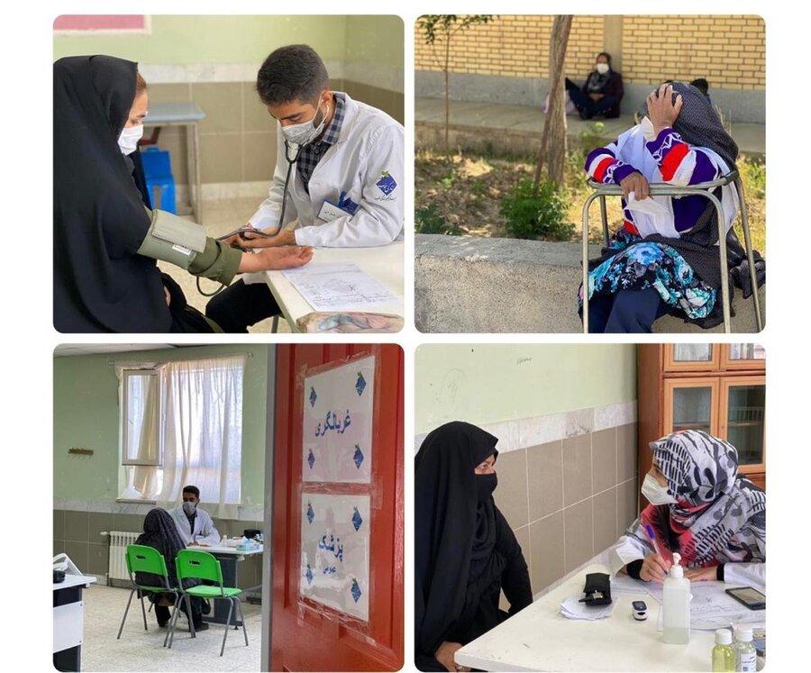 4 میلیارد تومان خدمات رایگان داوطلبانه پزشکی و معیشتی برای مددجویان بهزیستی صالحآباد