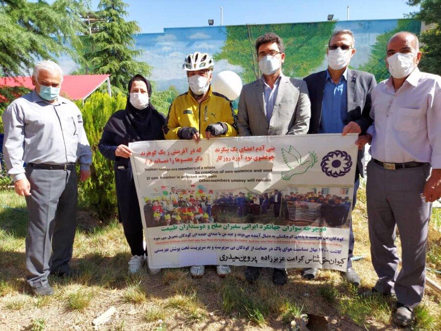 سفیران دوستی در ادامه سفر خود به استان البرز رسیدند