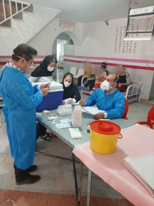 اتمام مرحله دوم واکسیناسیون کرونا در مراکز توانبخشی تحت نظارت بهزیستی البرز