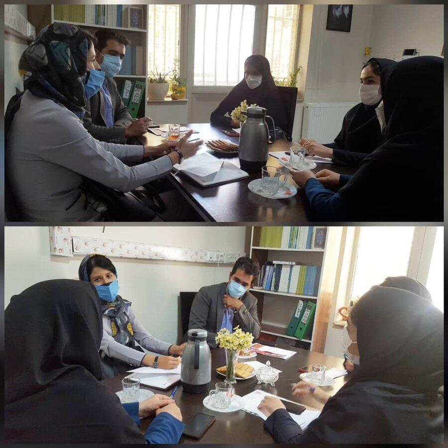 فردیس   برگزاری جلسه برنامه ریزی هفته بهداشت روان در بهزیستی شهرستان فردیس