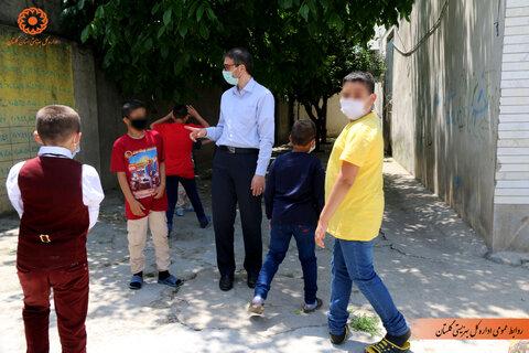 گزارش تصویری | بازدید دکتر بابایی از مراکز شبه خانواده استان