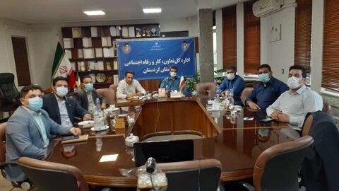 نشست مسولان روابط عمومی ادارات با وزیر تعاون کار و رفاه اجتماعی