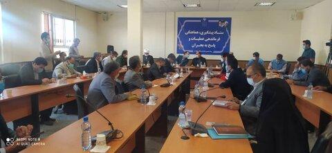 گزارش تصویری از برگزاری ستاد کمیته بحران در خراسان شمالی