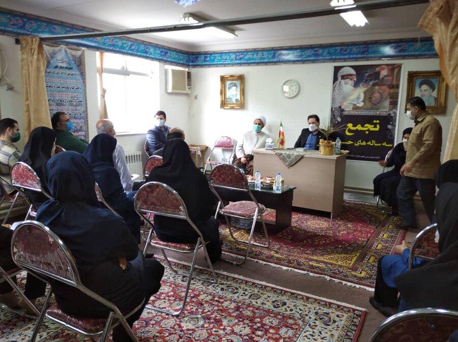 دیدار مدیرکل بهزیستی گیلان با ریاست و پرسنل بهزیستی شهرستان آستانه اشرفیه