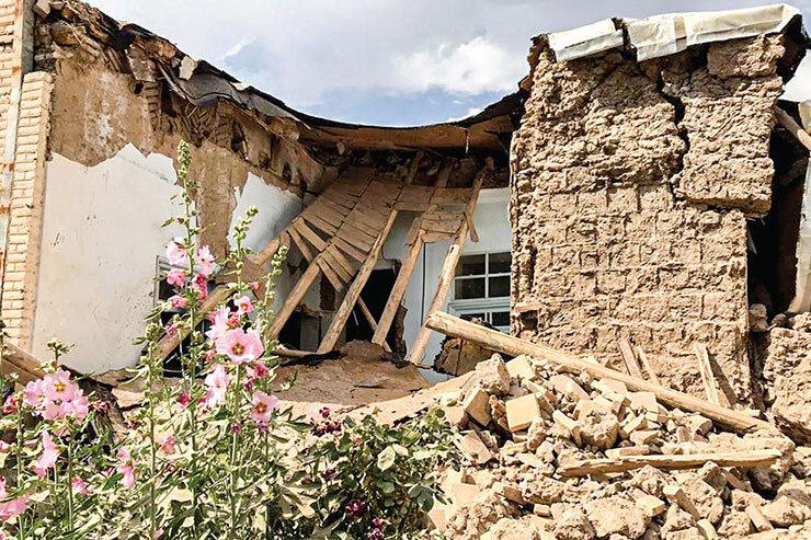 خسارت ۱۰۰ درصدی زلزله به ۱۵خانوار تحت پوشش بهزیستی