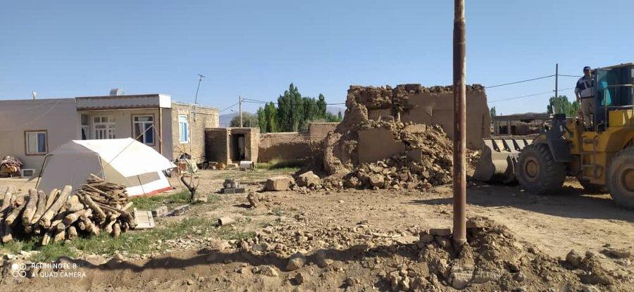 ۴۰۰ فقره پرونده بازسازی مناطق زلزله زده در خراسان شمالی تشکیل شد