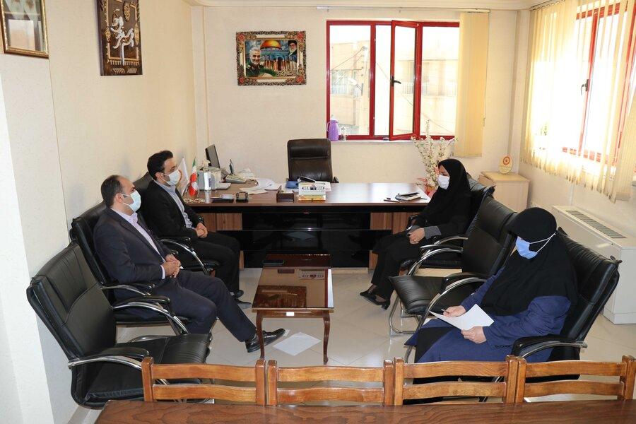 برگزاری نشست هم اندیشی بهزیستی آذربایجان غربی و سرپرستی بانک رسالت استان
