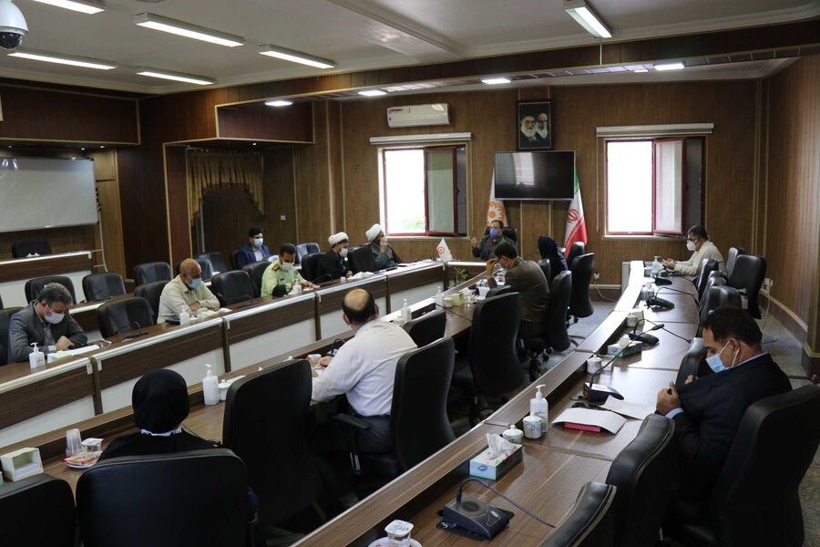 تشکیل کمیته استانی هماهنگی مرکز نگهداری، درمان و کاهش آسیب معتادان ماده ۱۶ در بهزیستی آذربایجان غربی