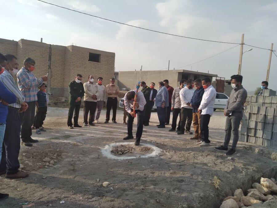بهزیستی شیراز | گزارش تصویری از کلنگ زنی مسکن مددجو