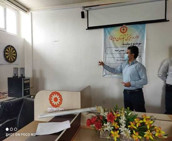 برگزاری مسابقه دارت بین کارکنان اداره بهزیستی شهرستان دیواندره