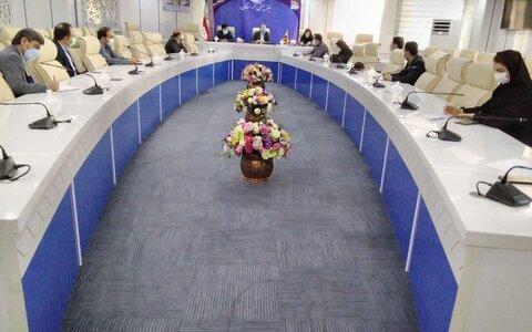 جلسه کارگروه حمایت و تاب آوری در بهزیستی استان برگزار شد