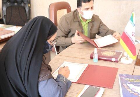 تفاهمنامه همکاری مشترک فیمابین اداره کل بهزیستی استان و جهاد دانشگاهی امضا شد