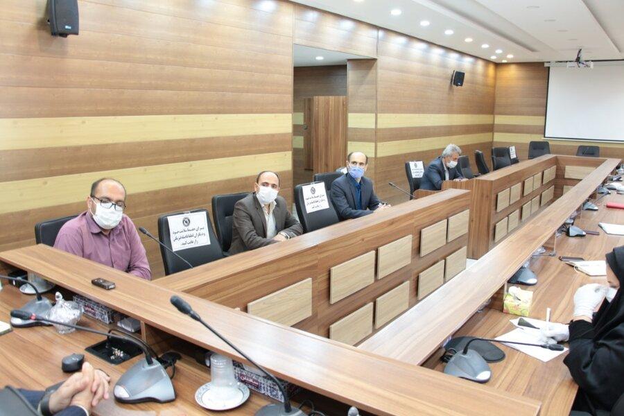 برگزاری جلسه شورای معاونین بهزیستی استان