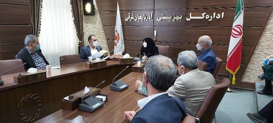 نشست مدیرکل بهزیستی استان با مسئولین مراکز شبانه روزی استان