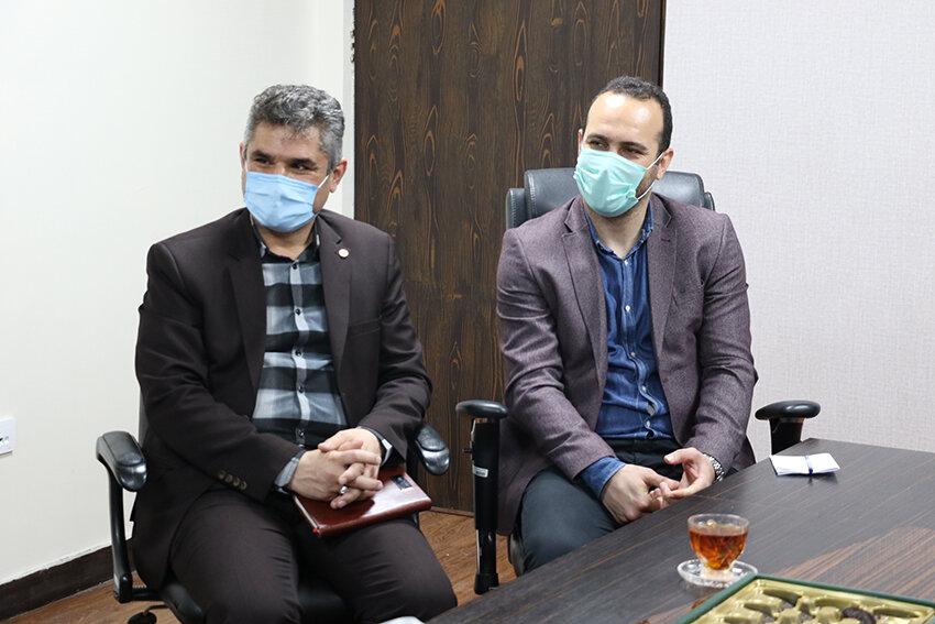 دیدار مدیرکل بهزیستی و رئیس هیئت جانبازان و معلولین گیلان با معاون توسعه ورزش اداره کل ورزش وجوانان استان